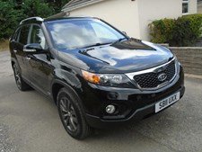 Kia Sorento 2.2 CRDi KX-3 4WD 5dr (7 Seats, SLS) HEATED CREAM LEATHER,LOW MILES